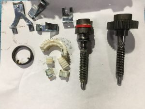 7 Series Parking Brake Actuator Plastic and Metal Gear