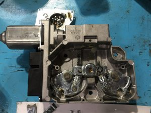 7 Series Parking Brake Actuator with Gear Removed