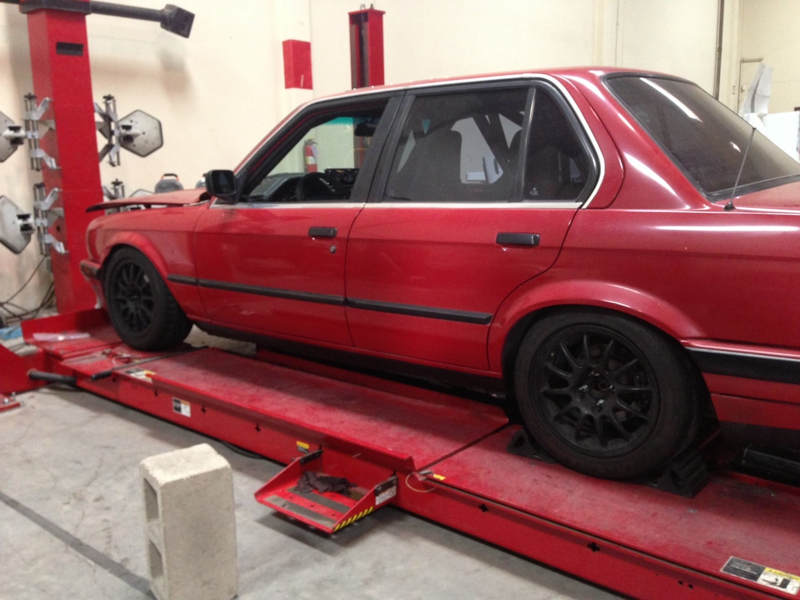 E30 Bmw Rear Subframe Modification For Toe And Camber