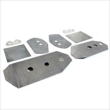 E46 Rear Subframe Reinforcement Plates