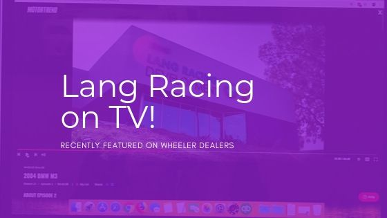 Lang Racing on TV and Online